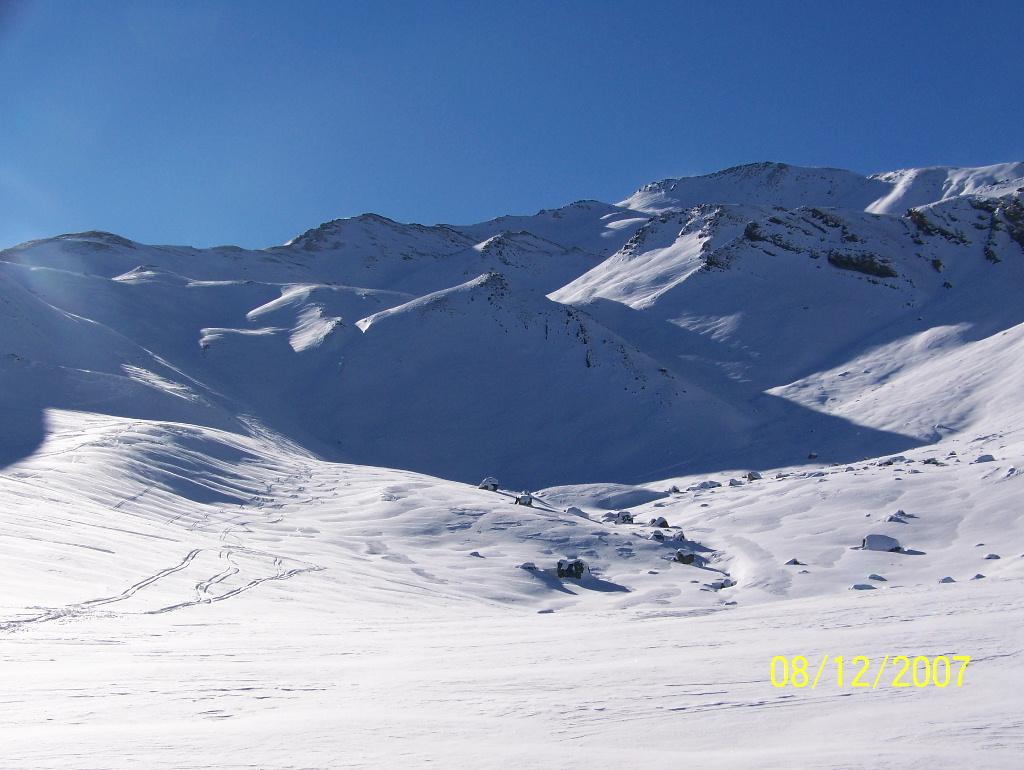 Col de Vars 08/12/2007